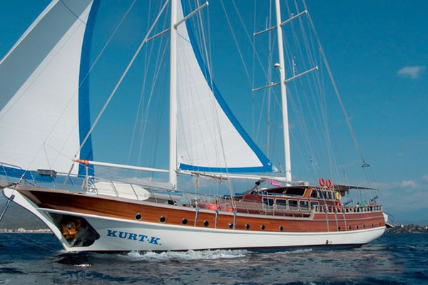 Turkish Gulet Cruise Vessel