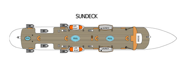 Royal Clipper  sundeck