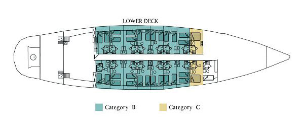 ADRIATIC ODYSSEY CRUISE  – DECK PLANS3