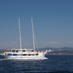 Cruising with motor sailing ships along Kvarner coastline & islands