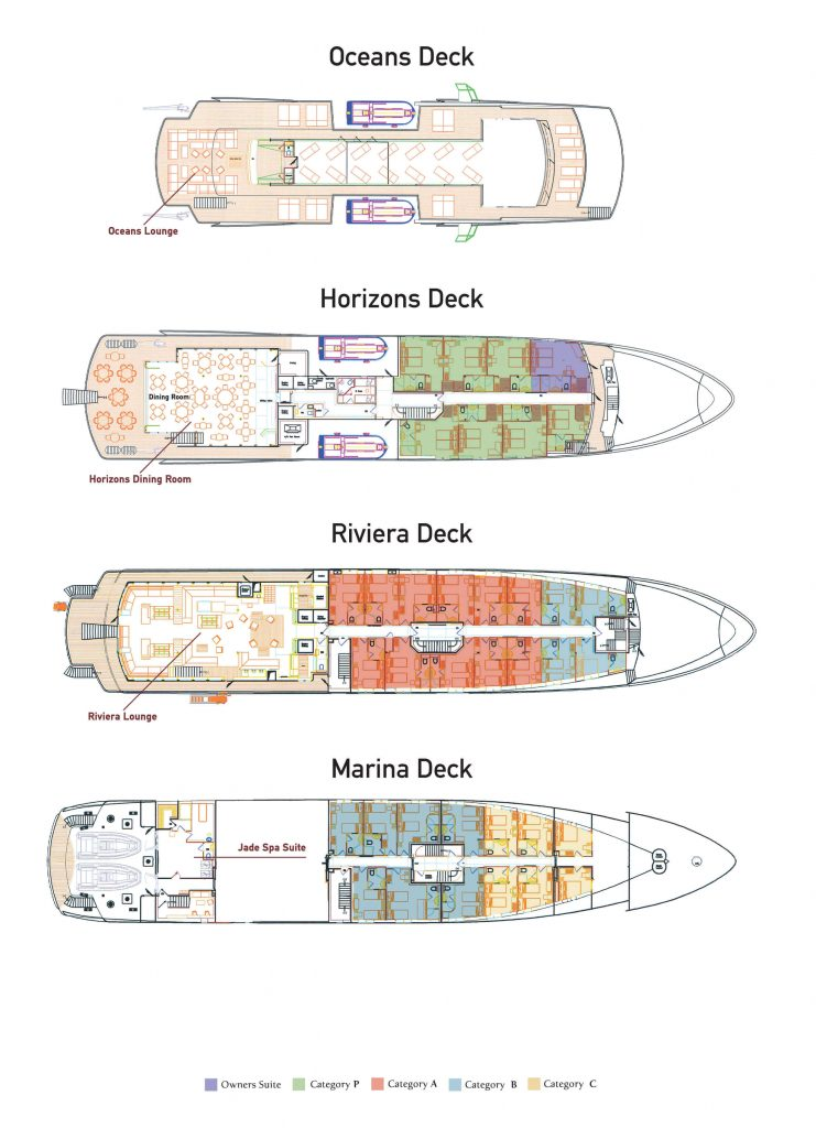 Variety Voyager Deck Plans