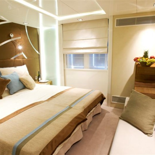 Category A Main Deck (Twin Beds or Double Bed)