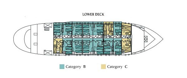 Galileo Lower Deck
