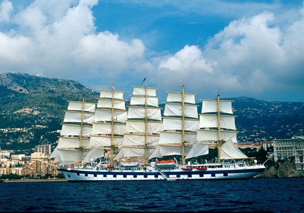 The Tall Ship Royal Clipper