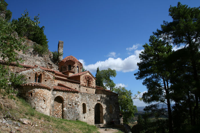 Monastery in Mistras