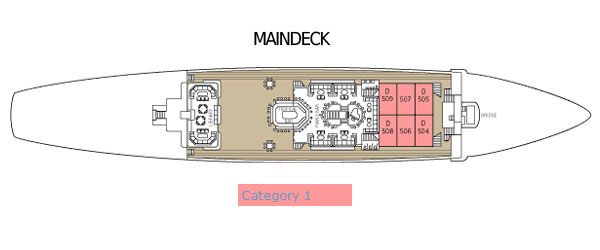 Star Flyer deckplan maindeck
