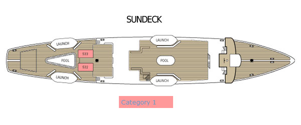 Star Clipper - Sundeck
