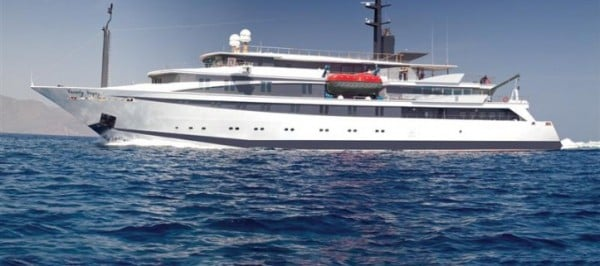 the state of the art M/Y Variety Voyager