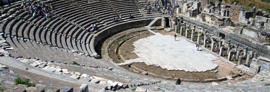 Idyllic Aegean, cruising from Greece Ephesus-Great-Theatre