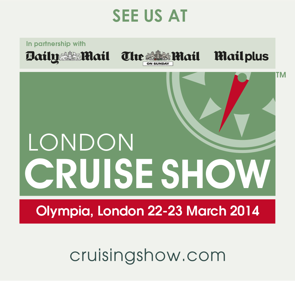See us at the London Cruise show 2014