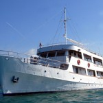NEWLY BUILT SHIPS, WITH SPACIOUS CABINS, SUNDECKS AND RESTAURANT AREA