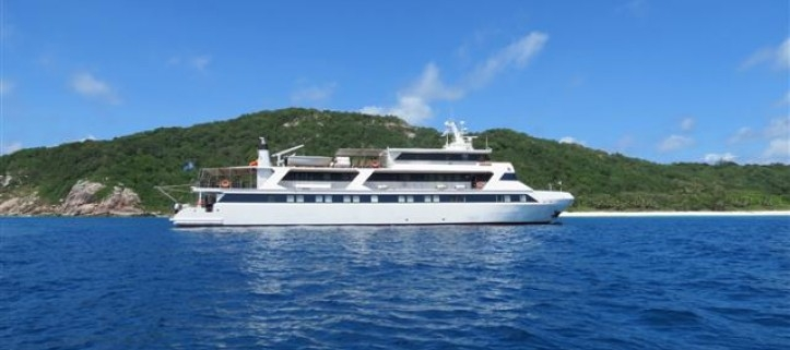The Motor yacht Pegasus