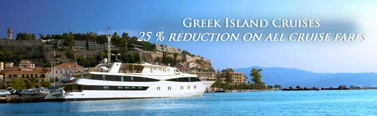 25 % reduction on all cruise fares