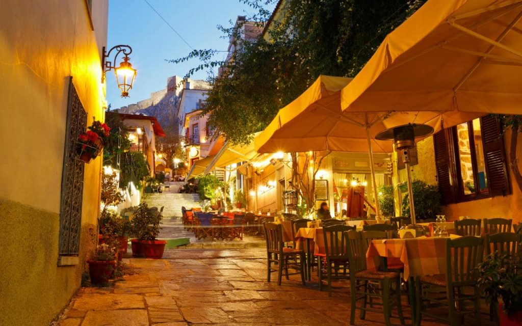 Athens Restaurants Plaka