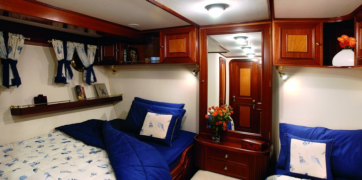 Liana H Double Cabin plus Single Bed