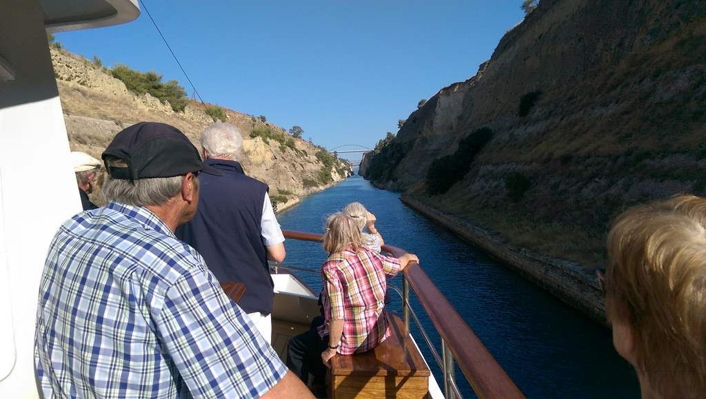 Callisto Crossing The Corinth Canal
