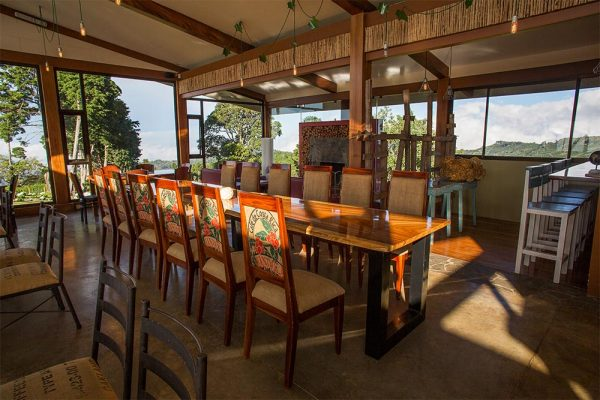 Chayote Lodge Dining Area