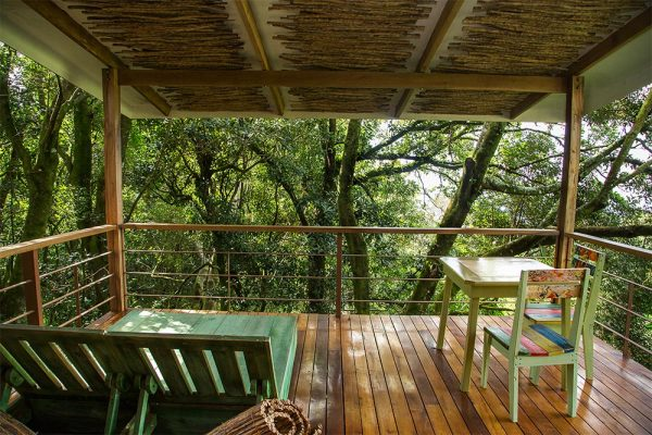 Chayote Lodge Relax Outside