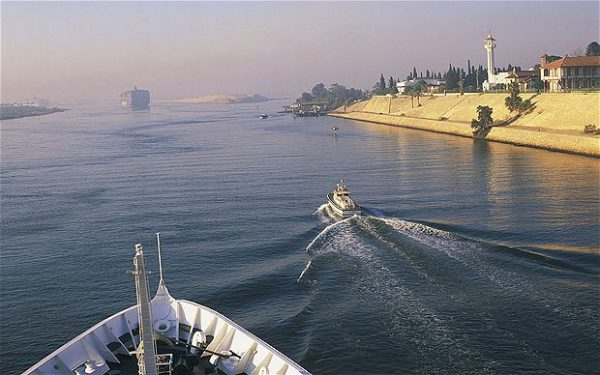Suez Canal Crossing, Egypt