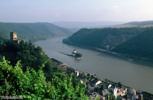 New experiences on the River Rhine